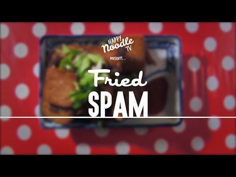 How to Cook Fried Spam (Luncheon Meat)