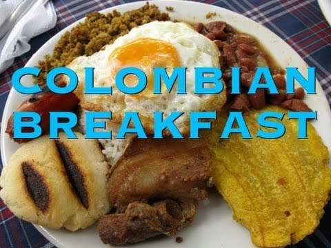 Bodybuilding Colombian Breakfast
