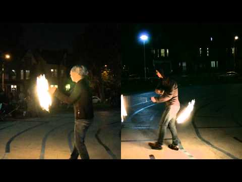 Sony NEX VG10 vs Canon XA10 Low Light Test Footage