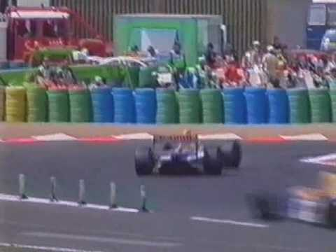 1993 French GP - Race P11/12