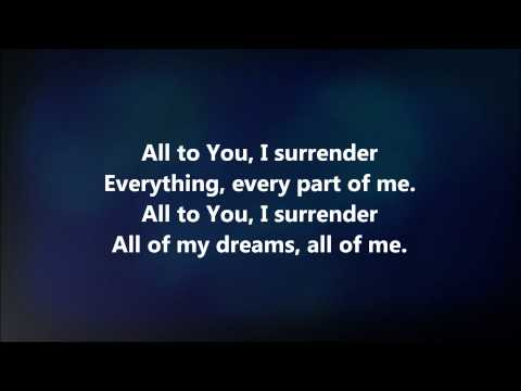 I Surrender - Jesus Culture w/ Lyrics