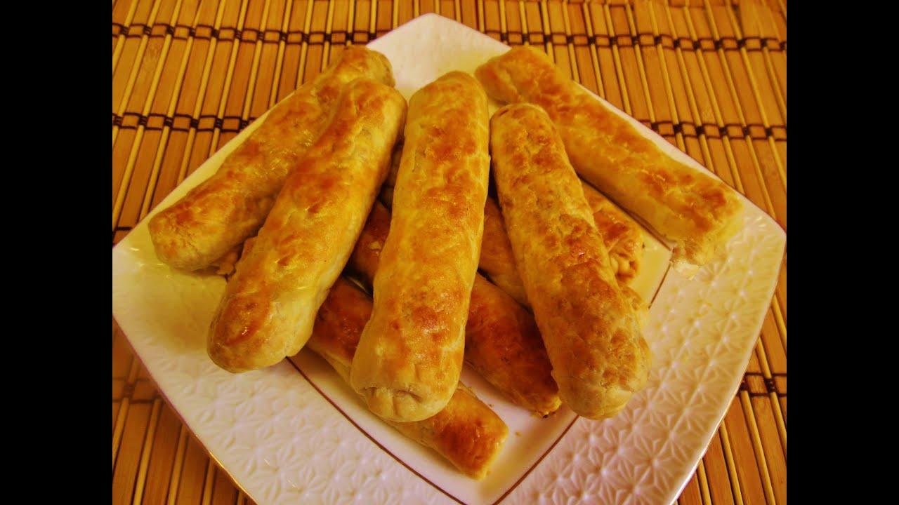 Пирожки с капустой сигары рецепт