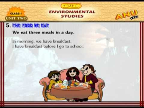 EVS Chapter 5 - The Food We Eat  For Kids
