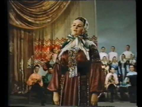 Russian folk song & dance. ВОРОНЕЖСКИЙ ХОР. Мордасова. 1953