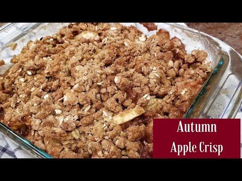1960's Apple Crisp Recipe