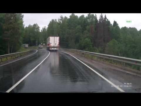 ДТП с фурами в дмитровском районе 05.08.2013