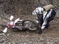 Melz Exdrähm 2013 Hard Enduro Extreme Rodeo Hill Climb Crashes & Fails