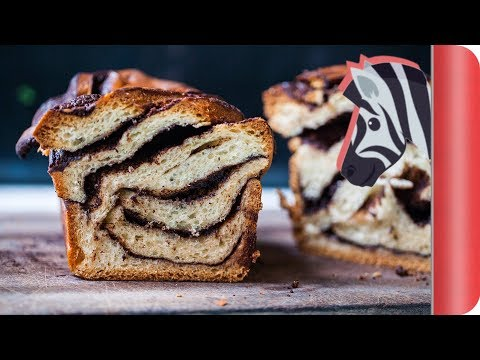 Chocolate Zebra Bread - Babka!
