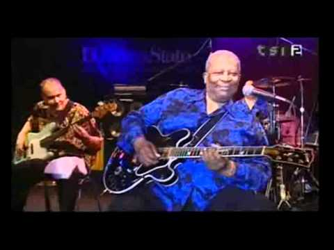 BB King live in Bellinzona Switzerland 2001