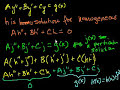 Фрагмент с средины видео - Undetermined coefficients 1 | Second order differential equations | Khan Academy