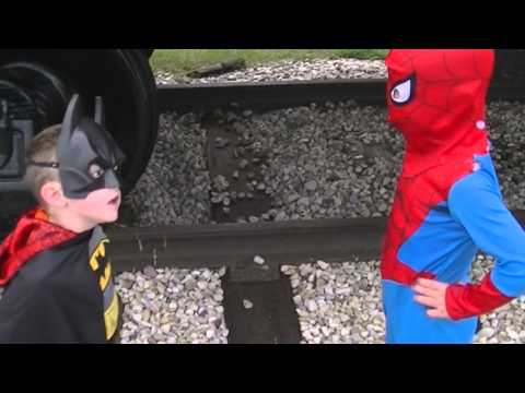 Batman and spiderman to the rescue