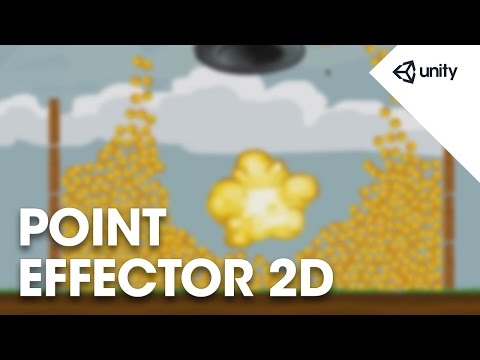 Unity 5 - 2D Physics: Point Effector 2D