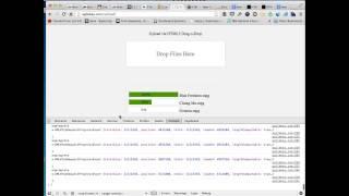 HTML5 Drag & Drop File Upload