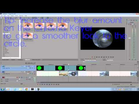 Sony Vegas Pro 10: Sniper Scope Transition Effect