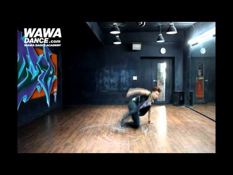 WAWA DANCE ACADEMY ROOKIE Special BAP ONE SHOT DANCE STEP MIRRORED MODE