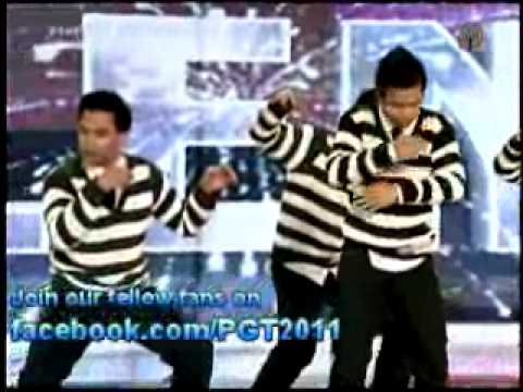 B4 Dance Pilipinas Got Talent 2011 Season 2