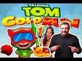 Новый Том бег за золотом   Водяной том!!! Веселые соревнования Водяного Тома и Анджелы Валькирии!!!