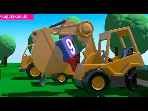мультфильмы про машины - развивающие мультики для детей