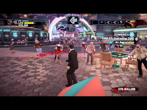 Dead Rising 2: Off the Record - Laser Eyes & Cryo Pod - Walkthrough Part 11 (Gameplay & Commentary)