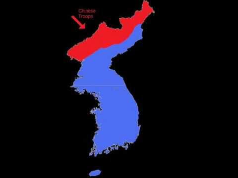 Korean War in 30 seconds
