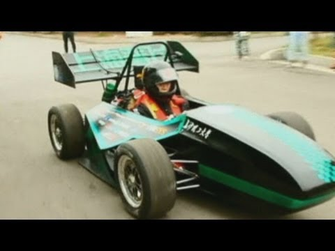 Chinese students use 3D printing to build racing car