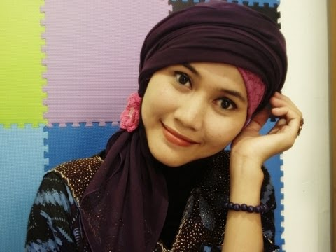 How to Wear Turban Hijab