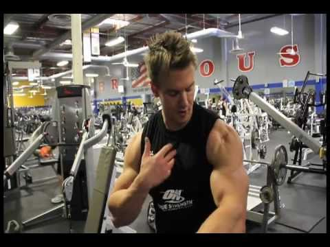 Rob Riches WBFF Fitness Model Contest Prep. 10 Weeks Out - Chest
