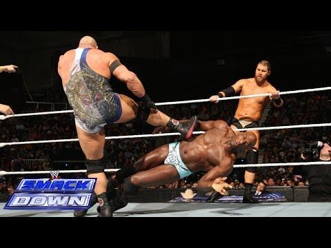 The Prime Time Players vs. Ryback & Curtis Axel: SmackDown, Dec. 27, 2013