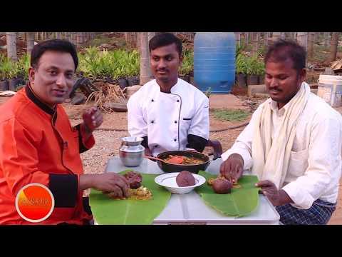 Country Chicken Curry - Village Food - Karnataka