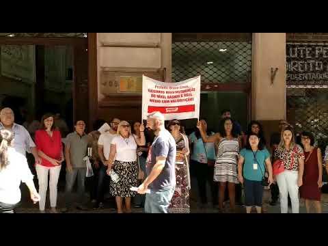 Agentes de apoio e AGPPs do Edifício Martinelli pedem reestruturação com valorização