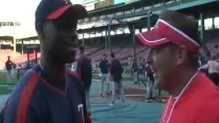 Bill Sandillo interview with Torii Hunter