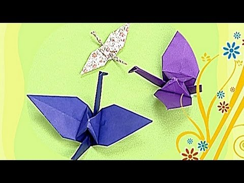 Crane - Paper Friends 01 | Origami for Kids