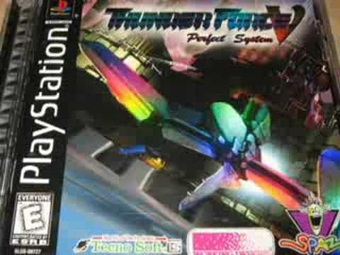 Classic Game Room HD - THUNDER FORCE V 5 for Playstation