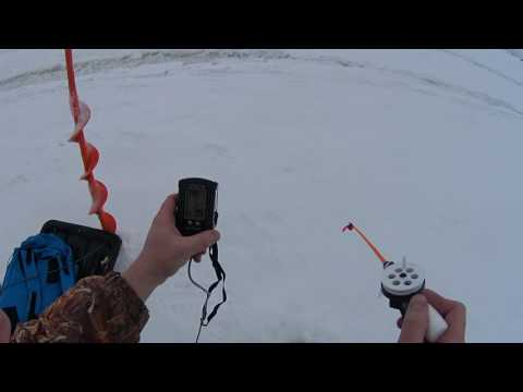 видео как рыбачить с эхолотом