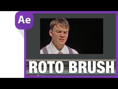 after effects rotobrush compositing tutorial: Roto brush and Adobe After Effects