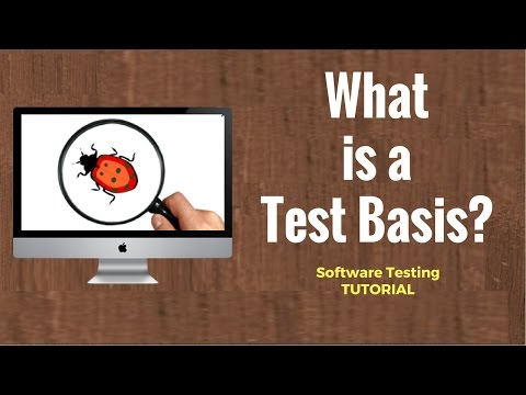 Software Testing Tutorial 13 : Test Basis ,V -Model
