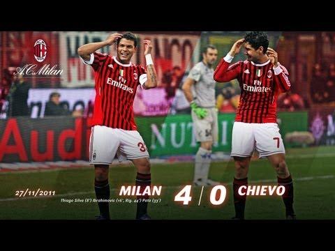 Milan-Chievo 4-0