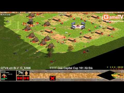 AOE | G_Hồng Anh vs Chim Sẻ Đi Nắng Solo Shang 9/3/2014 (Full HD có BL)
