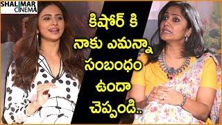Rakul Preet Strong Punch To Jhansi For Comparing Her With Vennala Kishore || Shalimarcinema