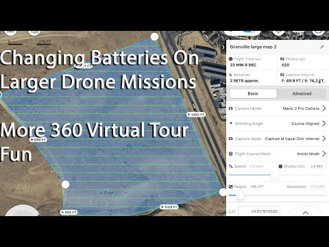 More 360 Virtual Tour Testing - Multiple Battery Drone Missions - UCqgU_7HlSvmgMdZXjx9-syw