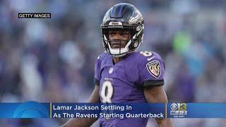 Lamar Jackson Settles In As Ravens Starting Quarterback