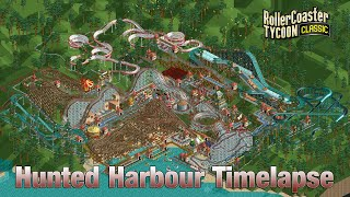 Roller Coaster Tycoon Classic Hunted Harbour Timelapse