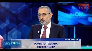 Prof. Dr. Metin Çakmakçı - Meme kanserindeki son gelişmeler ve Pembe Top Sahada - Habertürk