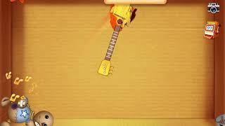 I beat evastation animates with a balalaika guitar