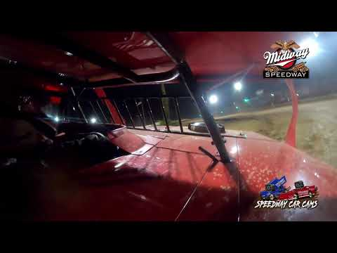 #F1 Mitchell Franklin - Usra B Modified - 6-25-2021 Midway Speedway - In Car Camera - dirt track racing video image