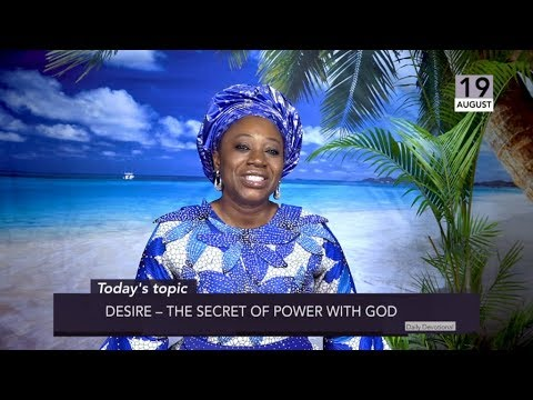Dr Becky Paul-Enenche - SEEDS OF DESTINY  MONDAY 19TH AUGUST, 2019