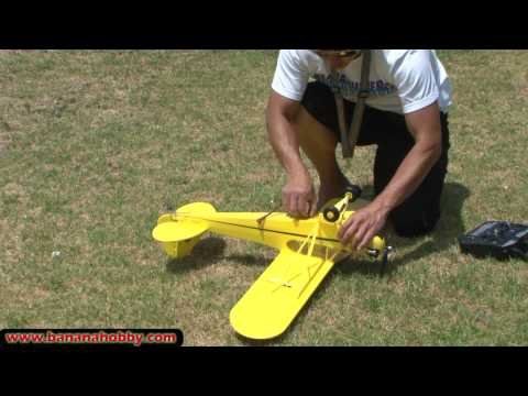 Piper J-3 Cub Super Scale Ultimate RC Parkflyer!  FLIGHT REVIEW in HD! - UCUrw_KqIT1ZYAeRXFQLDDyQ