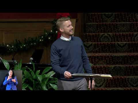 Sermon - 12/27/2020 - Pastor Ben Anderson - Christ Church Nashville