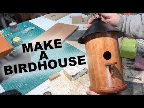 Derek from Malden makes a Bird House