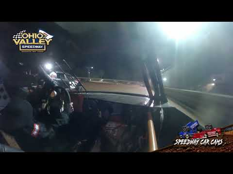 #10w Anthony Hamner - Ohio Valley Speedway 4-23-21 - Hornet FWD - In-Car Camera - dirt track racing video image